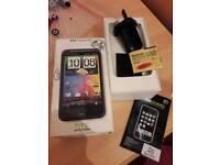 HTC desire hd empty box and accessories
