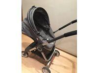 Stokke pram & car seat £200 OBO good condition. Wheel base , basinette, car seat & ISO fix base