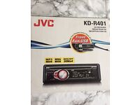 JVC KD-R401 CD CAR STEREO - NEW IN BOX