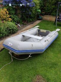 Waveco 2.6m Inflatable deck boat dinghy