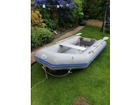 Waveco 2.6m Inflatable deck boat dinghy