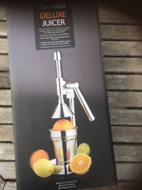 Deluxe Steel Juicer with Lever (New)
