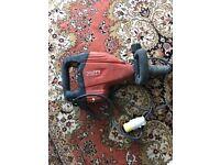 Hilti concrete braker