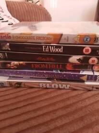 Johnny Depp DVD bundle