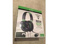 TURTLE BEACH XBOX ONE TECON 50x wired gaming headset perfect used condition