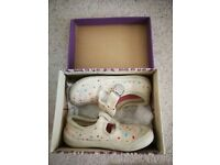 Little girls shoes from Clarks