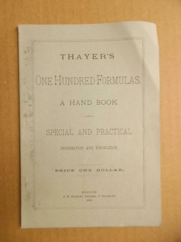 1883 Thayer