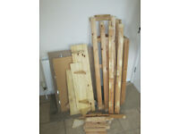 Free dry fire wood