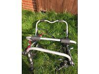 Three bike car cycle rake