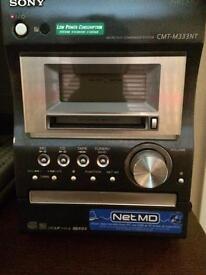 Sony cmt-m333nt - net minidisc