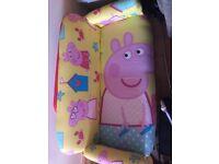 Peppa pig sofa