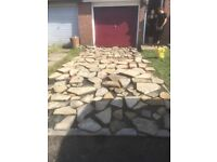 Yorkshire stone approx 12 square meters