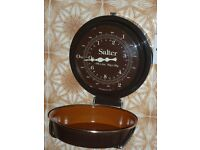 SALTER wall-hanging kitchen scales