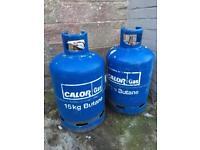 2x Butane Gas Bottles