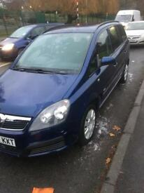 Vauxhall Zafira.MPV-7 Seater-Not A Ford Not a VW.