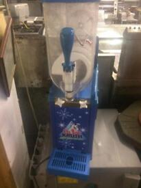 Polar crush single slush machine.
