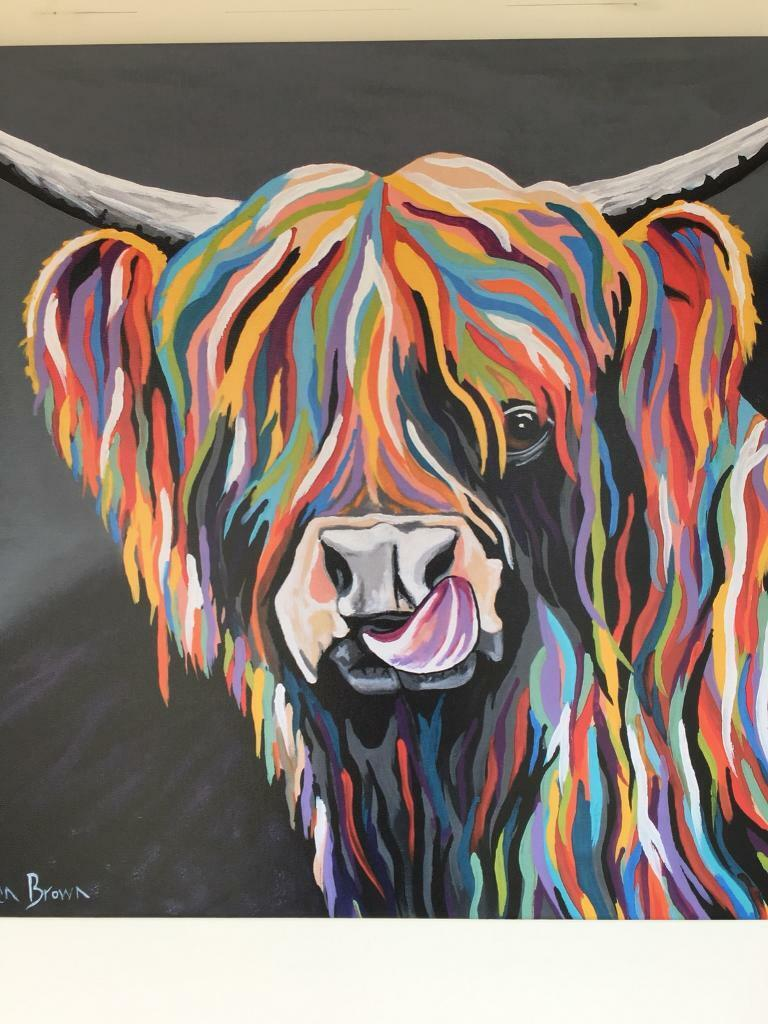 Steven Brown Wall Canvas Mccoo Range In St Andrews