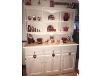 Vintage Shabby Chic Pine Dresser