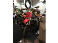 Crf 70 large pitbike rolling frame 140cc 2015 model