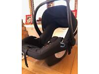 Silver cross 3D baby car seat and isofix base