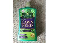 Brand new Crowne Green liquid liquid lawn feed