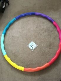 Weighted hola hoop