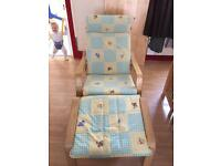 Nursing chair & stool