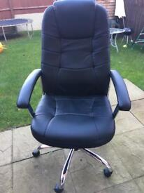 Cheap leather computer chair £20
