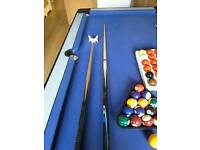 Pool table 6 foot x 3 foot