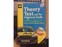 AA Theory Test And The Highway Code Book. and Hazard perception CD