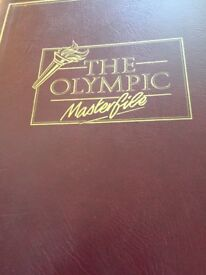 Olympic Games 1992 collection of stamps and coins