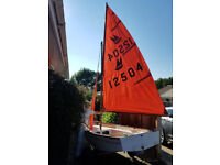 Mirror Sailing Dinghy in good solid used condition