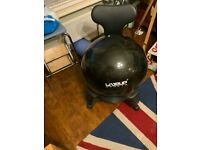Pro11 Wellbeing Live Up Balance Ball posture Chair with wheels