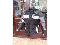 helmet n waterproof motorcycle jacket