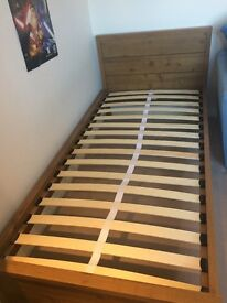 Single Wood bed Frame - Brilliant Condition - £85 ono - Pick up Only