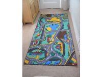 Playmat, large, carpet style