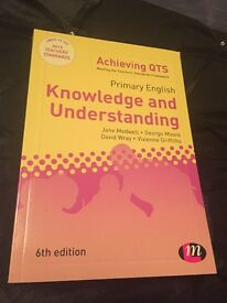 Primary English knowledge & understanding achieving QTS