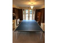 Butterfly Table Tennis Table - fullsize, foldaway, blue, great condition