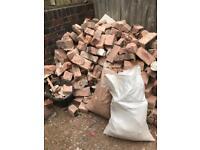 Broken bricks/hardcore