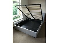 KING SIZE ottoman bed (frame only, no mattress)