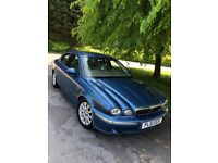 THE MIGHTY JAGUAR X-TYPE V6 SE AUTOMATIC WITH NEARLY 13 MONTHS MOT AND SERVICE HISTORY