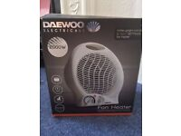 Electrical Fan Heater 2000W (DAEWOO)