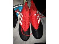 Adidas football boots size7