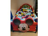 Mickey mouse toddler bed