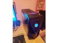 Gaming PC I7 4770K 4 core, Asus Maximus Gene, 16 gb DDr3 2133 Mhz, Asus GTX 1050 Ti 4 Gb, 1 Tb hdd