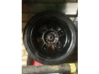 Piaggio zip rear wheel good tyre 30£ Offers not Yamaha typhoon gilera zip Ktm