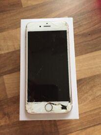 iPhone 6s rose gold spares/repairs