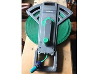 Roll Flat Hose- Compact Garden Hose Reel Kit - Good for Camping