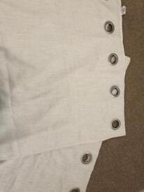 Cream Linen Curtains