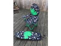 Children's folding camping chair